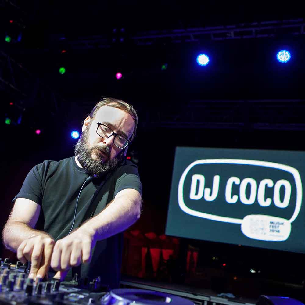 Dj Coco- Low Festival 2018